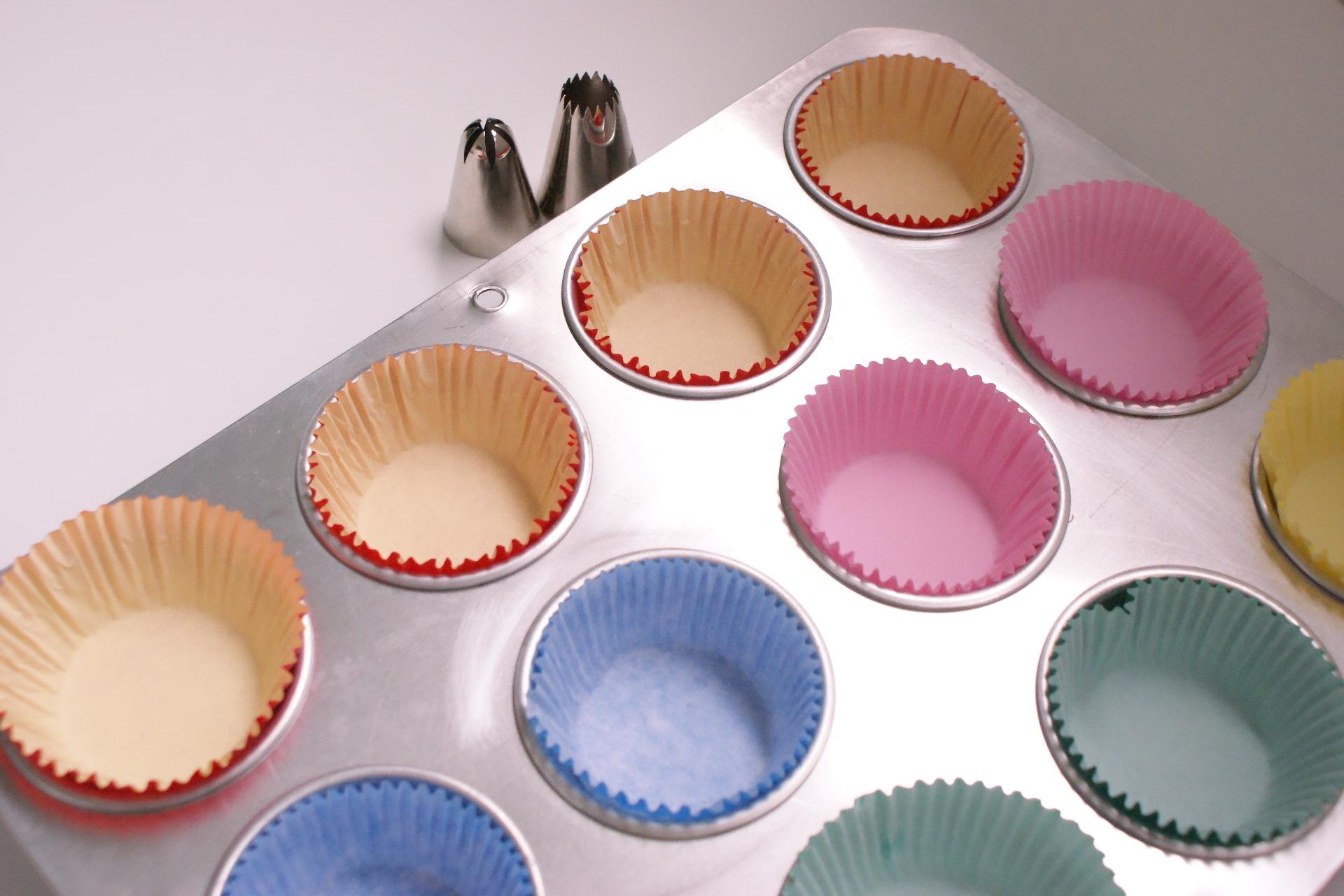 Massa básica para cupcake