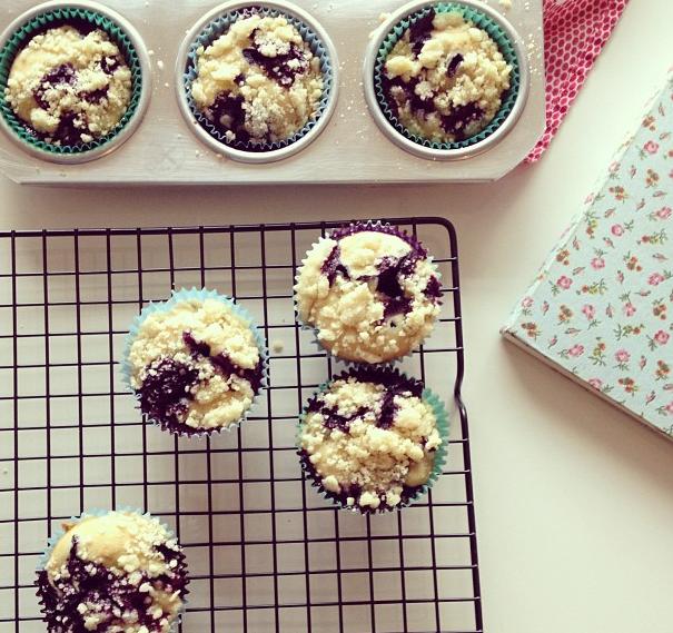 Muffins de Blueberry
